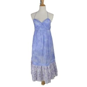 American Eagle Tiered Tie Dye Midi Dress